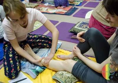 фотосъемка массаж ног