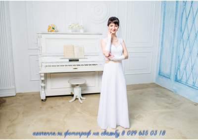 Свадебная в студии у рояля смарт