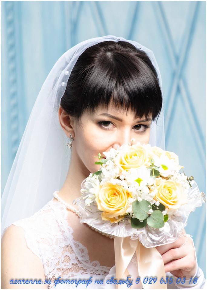 фотосъемка в студии невесты