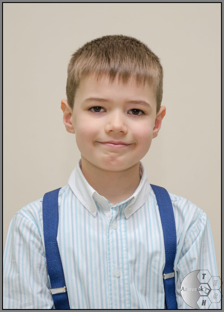 1 класс портрет мальчика