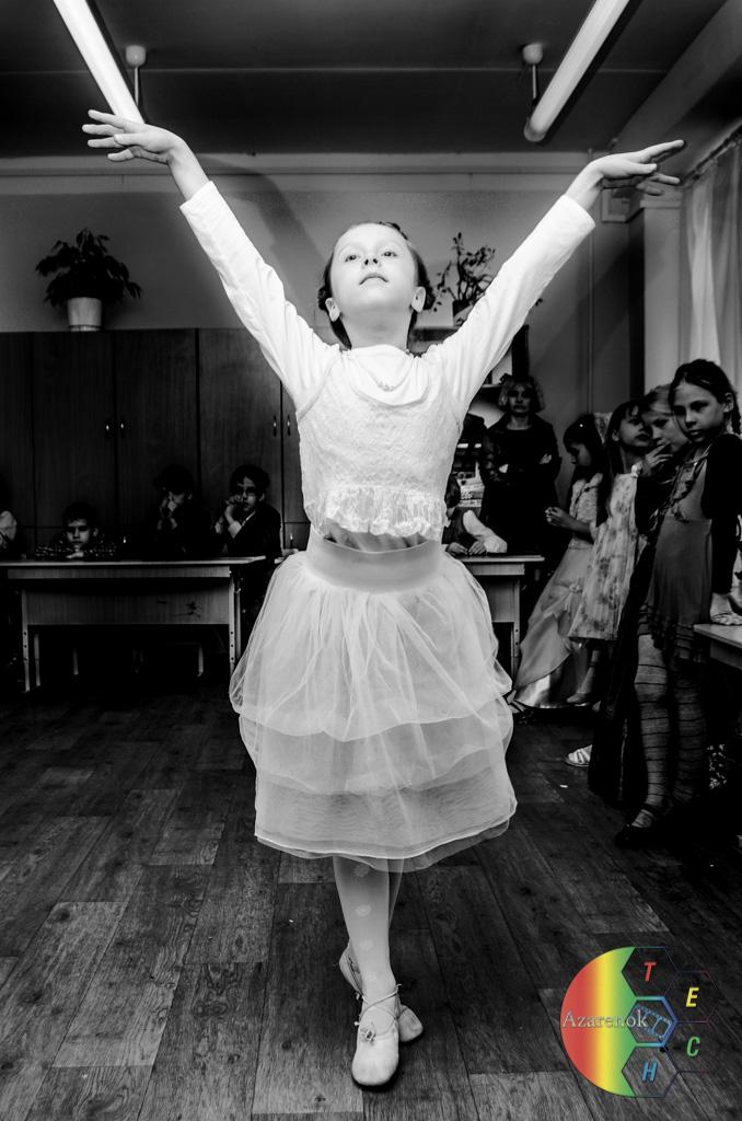 фотосъемка утренников балерина