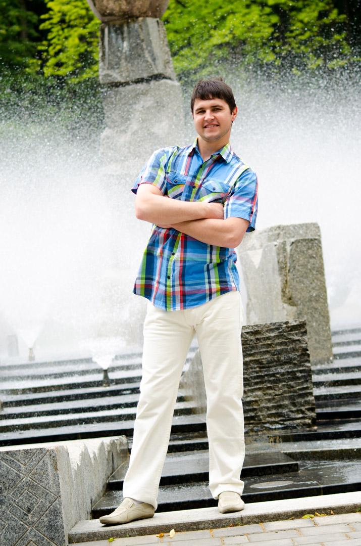 Фото у фонтана