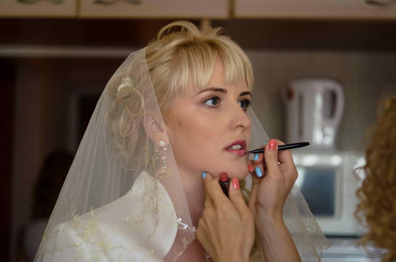 Фотосъёмка подготовки невесты