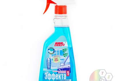 Предметная фотосъемка жидкость для стекол