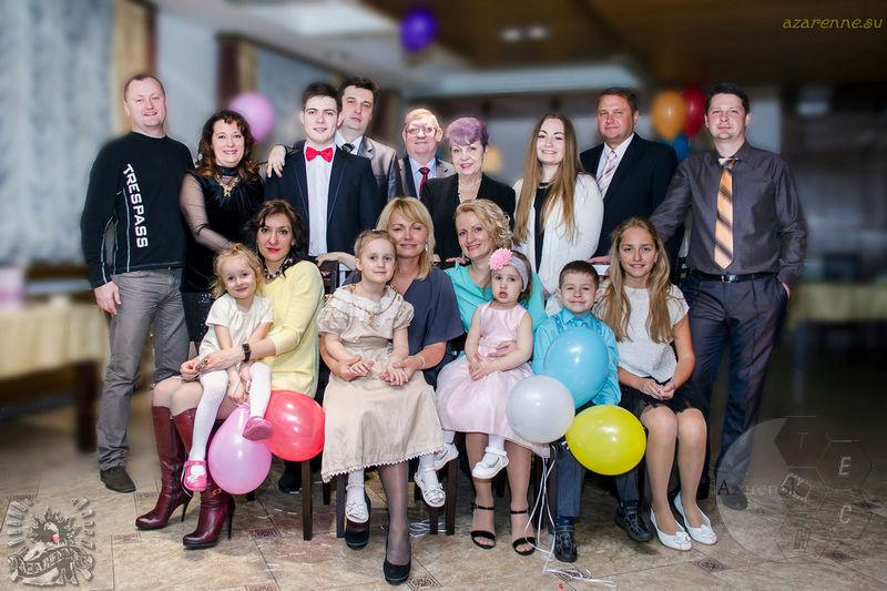 Семейный праздник фото