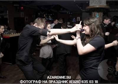 Танцы на юбилее