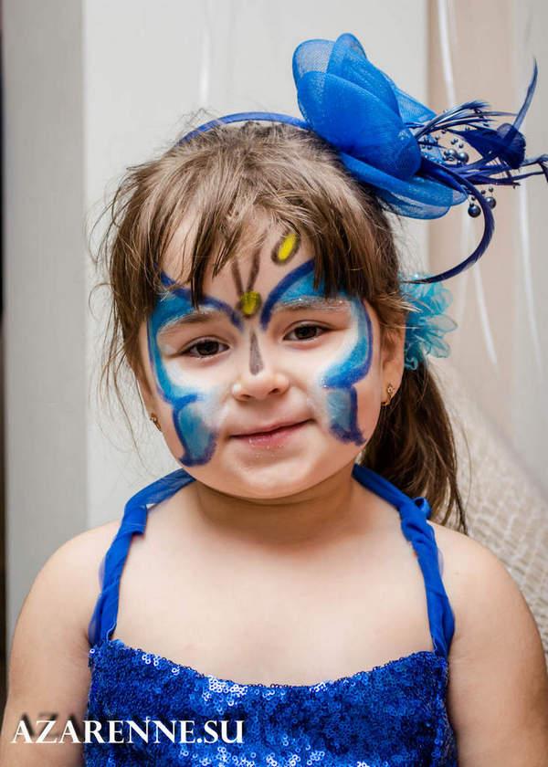 детская фотосессия бабочка