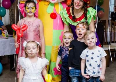 детская фотосессия веселое день рождения