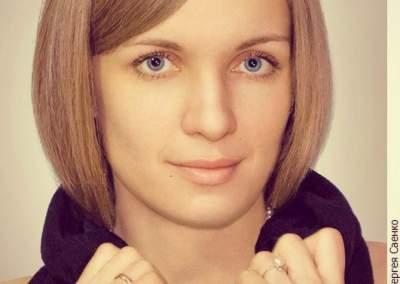 портретная съемка Юлии Азаренок