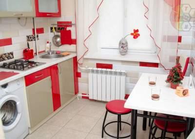 Стильная кухня в квартире на сутки