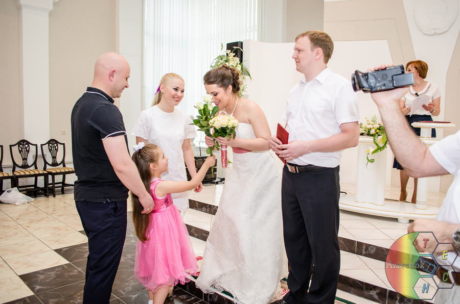 фотосъемка свадьбы и загса