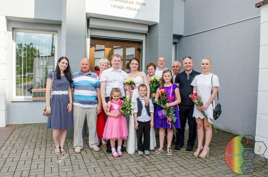 вся семья и свадьба
