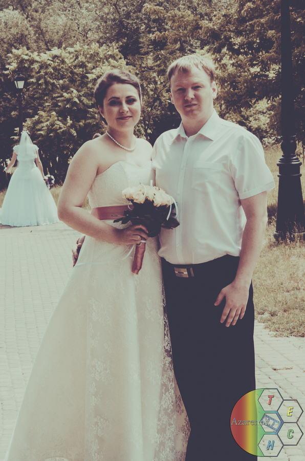свадьба парк в обработке
