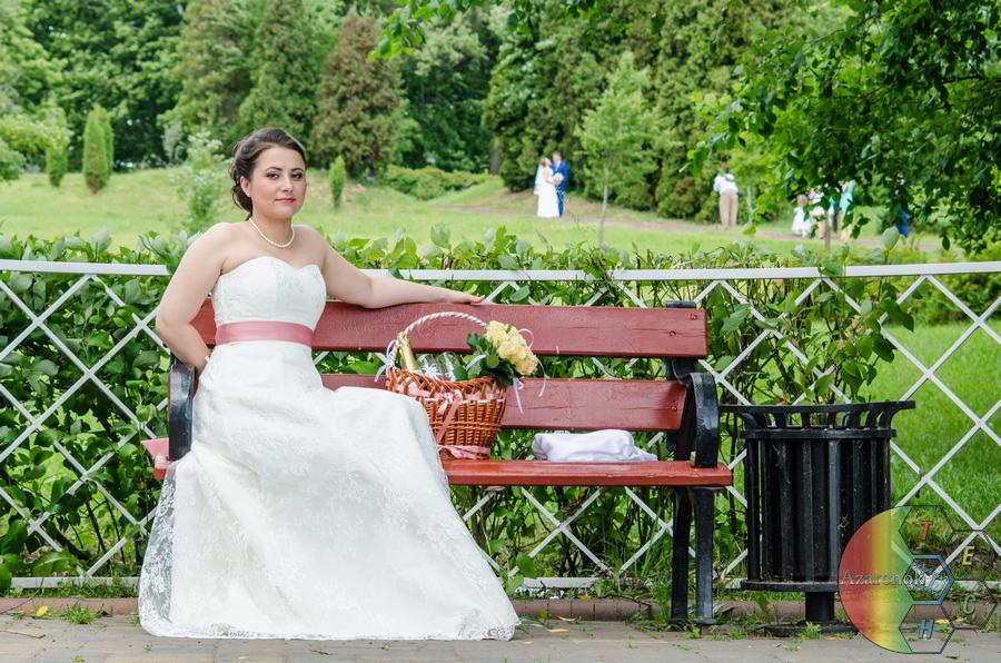 свадьба в Лошицком парке