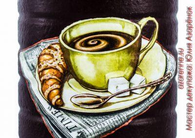 банка для кофе съемка