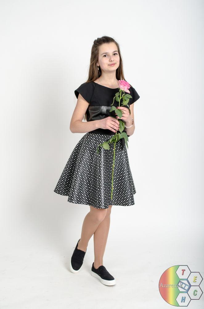 девушка с розой